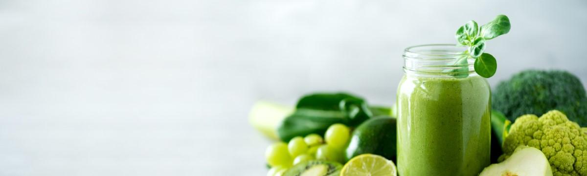 Ein grüner Smoothie